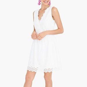 J Crew White Dress